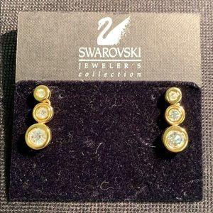 NWOT SWAROVSKI JEWELER'S COLLECTION EARRINGS